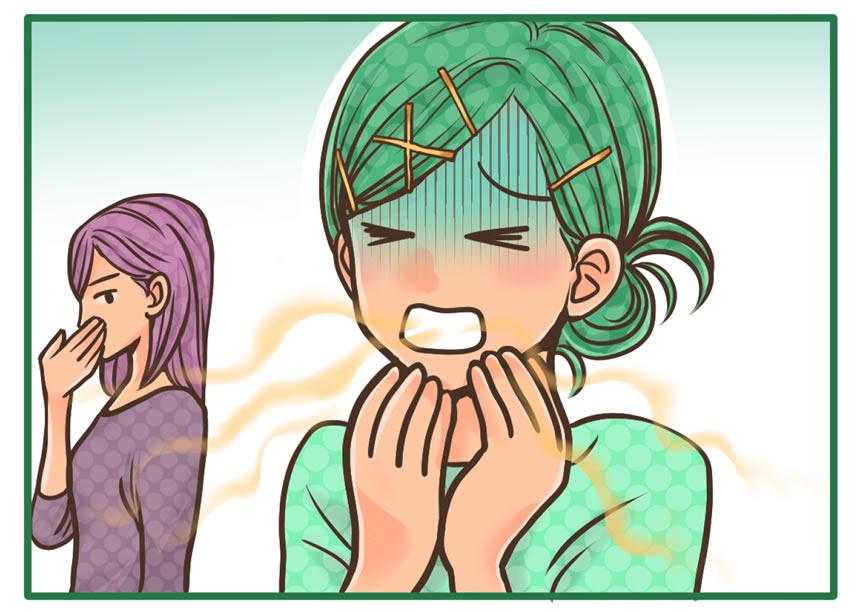 舌苔を取りたい:舌を磨くと今まで以上に臭うように