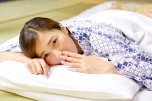 夜横になったときに喉がうえっとなり、ポロっと