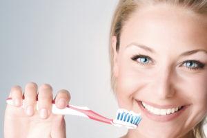 1日に何度も歯を磨く