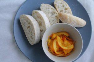 オレンジの甘露煮