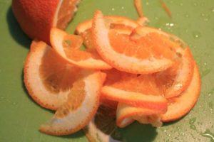 半月型のオレンジ
