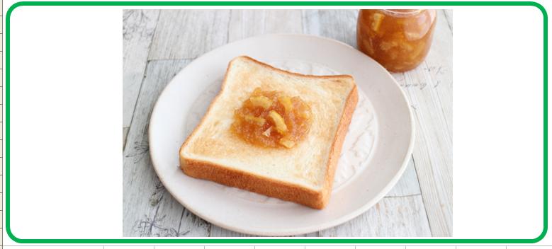 生姜とレモンのはちみつジャム トースト
